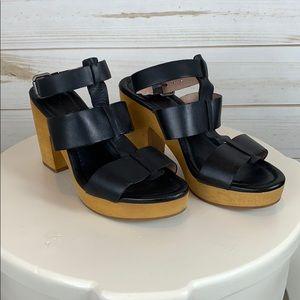 MADEWELL~ 7.5 Black Sandals